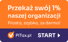 Przekaż 1% naszej organizacji